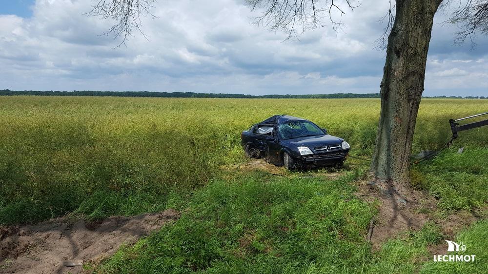 2017-06-30 Wypadek Krzywizna-Sarnów